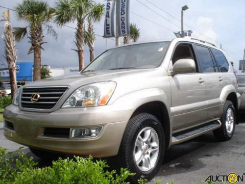 Photo Image Gallery & Touchup Paint: Lexus GX in Dorado Gold Pearl  (587)  YEARS: 2003-2005