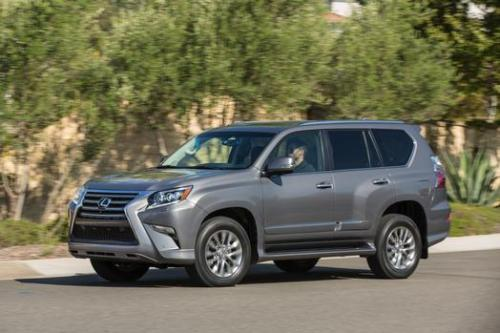 Photo Image Gallery & Touchup Paint: Lexus GX in Nebula Gray Pearl  (1H9)  YEARS: 2015-2017