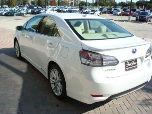 Photo Image Gallery & Touchup Paint: Lexus HS in Starfire Pearl   (077)  YEARS: 2010-2012