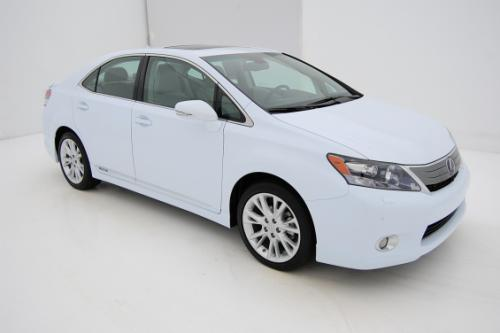 Photo Image Gallery & Touchup Paint: Lexus HS in Aurora White Pearl  (078)  YEARS: 2010-2010