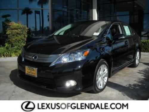 Photo Image Gallery & Touchup Paint: Lexus HS in Obsidian    (212)  YEARS: 2010-2012