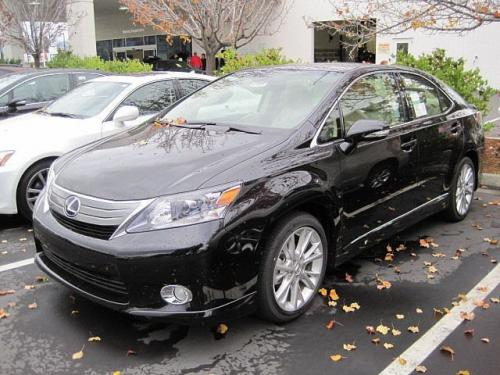 Photo Image Gallery & Touchup Paint: Lexus HS in Black Opal Mica  (214)  YEARS: 2010-2012
