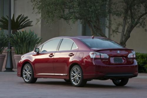 Photo Image Gallery & Touchup Paint: Lexus HS in Matador Red Mica  (3R1)  YEARS: 2010-2012