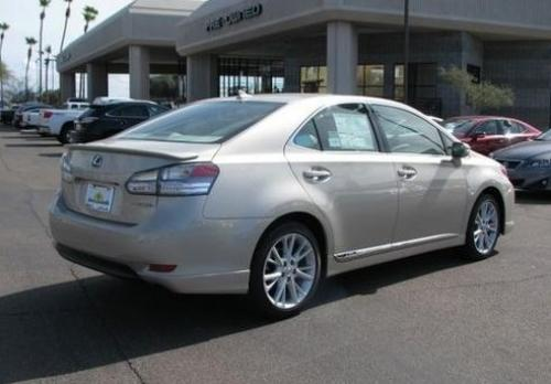 Photo Image Gallery & Touchup Paint: Lexus HS in Satin Cashmere Metallic  (4U7)  YEARS: 2011-2012