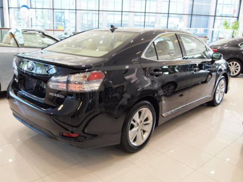 Photo Image Gallery & Touchup Paint: Lexus HS in Black Sapphire Pearl  (8U0)  YEARS: 2010-2010