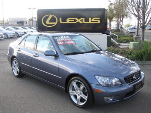 Photo Image Gallery & Touchup Paint: Lexus IS in Bluestone Metallic   (8N6)  YEARS: 2004-2005
