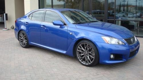 Photo Image Gallery & Touchup Paint: Lexus IS in Ultrasonic Blue Mica  (8U1)  YEARS: 2008-2014