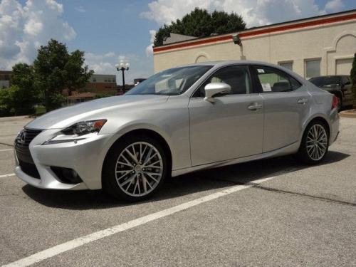 Photo Image Gallery & Touchup Paint: Lexus IS in Silver Lining Metallic  (1J4)  YEARS: 2014-2017