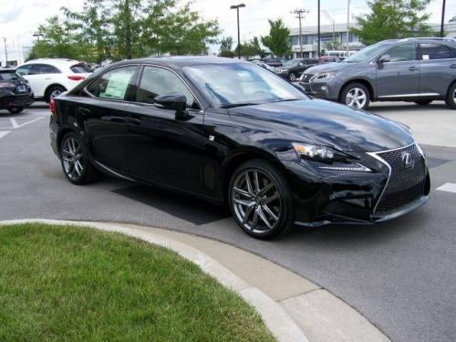 Photo Image Gallery & Touchup Paint: Lexus IS in Obsidian    (212)  YEARS: 2014-2017