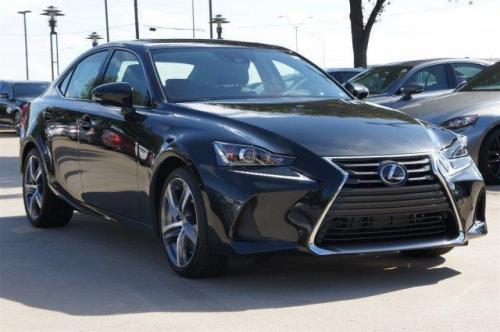 Photo Image Gallery & Touchup Paint: Lexus IS in Caviar    (223)  YEARS: 2017-2017