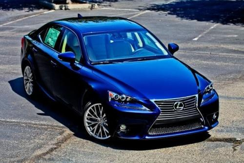 Photo Image Gallery & Touchup Paint: Lexus IS in Deep Sea Mica  (8V3)  YEARS: 2014-2015