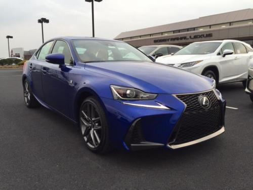 Photo Image Gallery & Touchup Paint: Lexus IS in Ultrasonic Blue Mica2  (8X1)  YEARS: 2016-2017