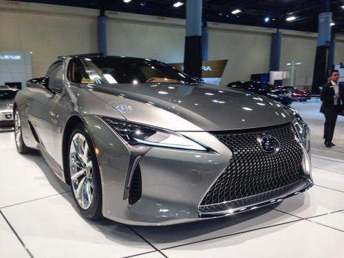 Photo Image Gallery & Touchup Paint: Lexus LC in Atomic Silver   (1J7)  YEARS: 2018-2018