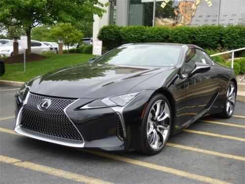 Photo Image Gallery & Touchup Paint: Lexus LC in Caviar    (223)  YEARS: 2018-2018