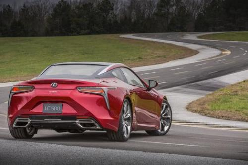 Photo Image Gallery & Touchup Paint: Lexus LC in Infrared    (3T5)  YEARS: 2018-2018