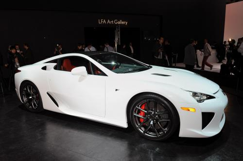 Photo Image Gallery & Touchup Paint: Lexus Lfa in Whitest White   (079)  YEARS: 2012-2012