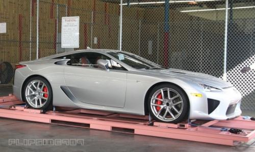 Photo Image Gallery & Touchup Paint: Lexus Lfa in Metallic Silver   (1F2)  YEARS: 2012-2012