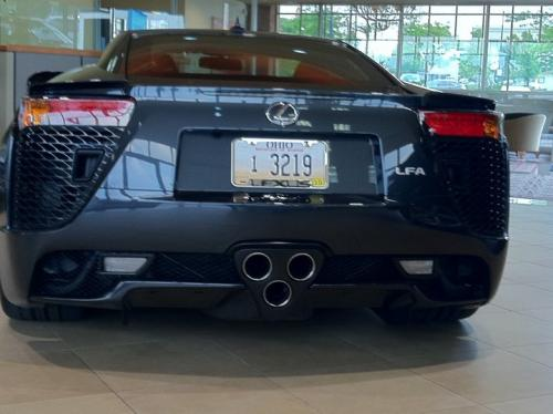 Photo Image Gallery & Touchup Paint: Lexus Lfa in Pearl Gray   (1G0)  YEARS: 2012-2012