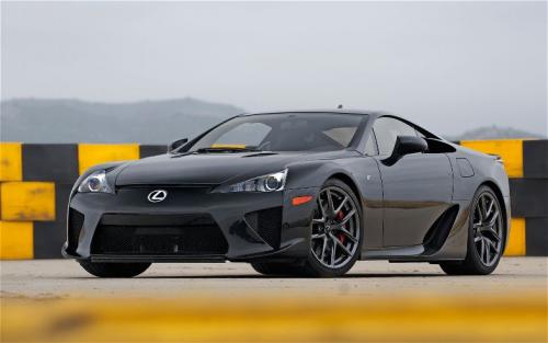 Photo Image Gallery & Touchup Paint: Lexus Lfa in Black    (212)  YEARS: 2012-2012