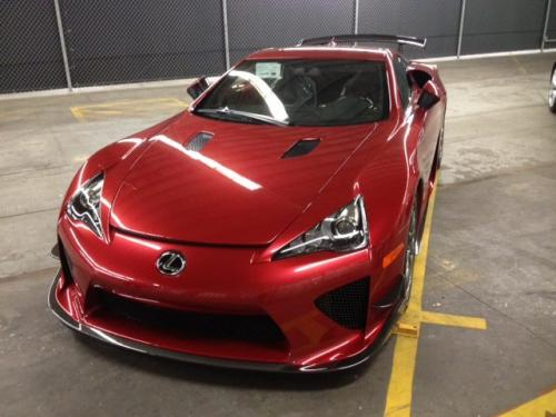 Photo Image Gallery & Touchup Paint: Lexus Lfa in Pearl Red   (3S4)  YEARS: 2012-2012