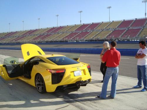 Photo Image Gallery & Touchup Paint: Lexus Lfa in Pearl Yellow   (5B0)  YEARS: 2012-2012