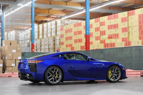 Photo Image Gallery & Touchup Paint: Lexus Lfa in Pearl Blue   (8V8)  YEARS: 2012-2012
