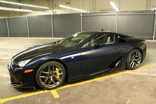 Photo Image Gallery & Touchup Paint: Lexus Lfa in Lapis Lazuli   (9H8)  YEARS: 2012-2012