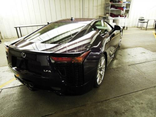 Photo Image Gallery & Touchup Paint: Lexus Lfa in Black Amethyst   (9J0)  YEARS: 2012-2012