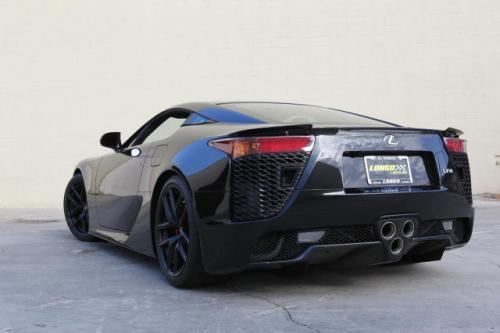 Photo Image Gallery & Touchup Paint: Lexus Lfa in Starlight Black   (9J2)  YEARS: 2012-2012