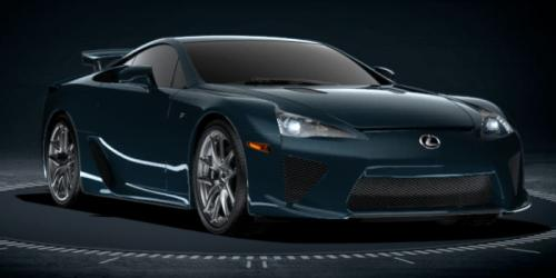 Photo Image Gallery & Touchup Paint: Lexus Lfa in Steel Blue   (9J3)  YEARS: 2012-2012