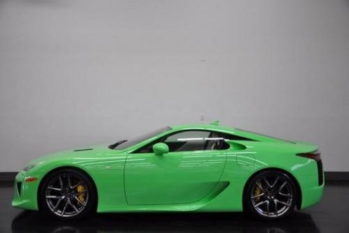 Photo Image Gallery & Touchup Paint: Lexus Lfa in Fresh Green   (9J7)  YEARS: 2012-2012