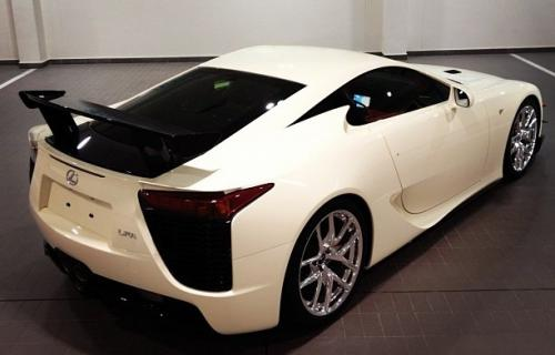 Photo Image Gallery & Touchup Paint: Lexus Lfa in Ivory White   (9J8)  YEARS: 2012-2012