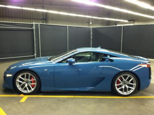 Photo Image Gallery & Touchup Paint: Lexus Lfa in Slate Blue   (9K3)  YEARS: 2012-2012