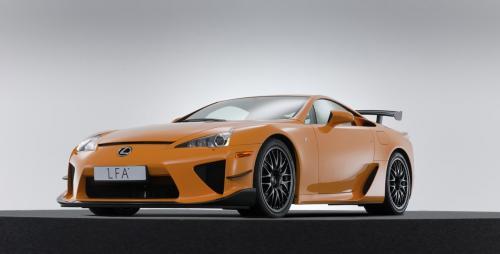 Photo Image Gallery & Touchup Paint: Lexus Lfa in Orange    (9K5)  YEARS: 2012-2012
