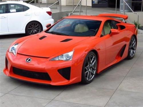 Photo Image Gallery & Touchup Paint: Lexus Lfa in Sunset Orange   (9K6)  YEARS: 2012-2012