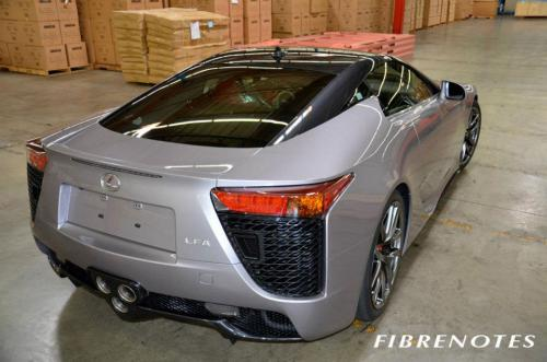 Photo Image Gallery: Lexus Lfa in Pearl Gray On Steel (XX1)  YEARS: -