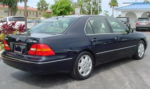 Photo Image Gallery Amp Touchup Paint Lexus Ls In Blue Onyx