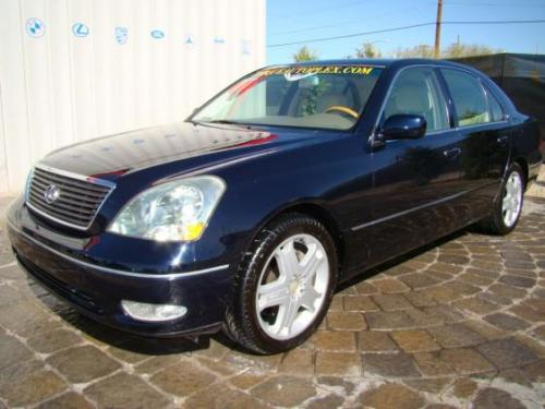 Photo Image Gallery & Touchup Paint: Lexus LS in Blue Onyx Pearl  (8P8)  YEARS: 2001-2006