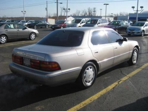 Photo Image Gallery & Touchup Paint: Lexus LS in Champagne Beige Metallic  (4K7)  YEARS: 1993-1994