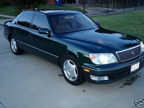 Photo Image Gallery & Touchup Paint: Lexus LS in Imperial Jade Mica  (6Q7)  YEARS: 1998-2000