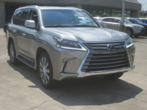 Photo Image Gallery & Touchup Paint: Lexus LX in Atomic Silver   (1J7)  YEARS: 2016-2017