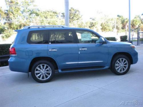 Photo Image Gallery & Touchup Paint: Lexus LX in Costa Azul Mica  (8U4)  YEARS: 2009-2010