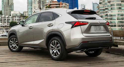 Photo Image Gallery & Touchup Paint: Lexus NX in Atomic Silver   (1J7)  YEARS: 2015-2017