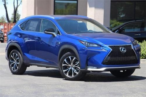 Photo Image Gallery & Touchup Paint: Lexus NX in Ultrasonic Blue Mica2  (8X1)  YEARS: 2017-2017