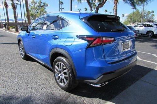 Photo Image Gallery & Touchup Paint: Lexus NX in Blue Vortex Metallic  (8X9)  YEARS: 2016-2016
