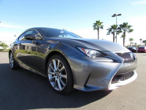 Photo Image Gallery & Touchup Paint: Lexus RC in Nebula Gray Pearl  (1H9)  YEARS: 2015-2017