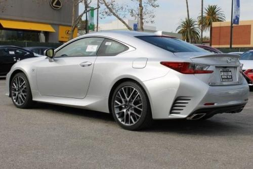 Photo Image Gallery & Touchup Paint: Lexus RC in Silver Lining Metallic  (1J4)  YEARS: 2015-2017