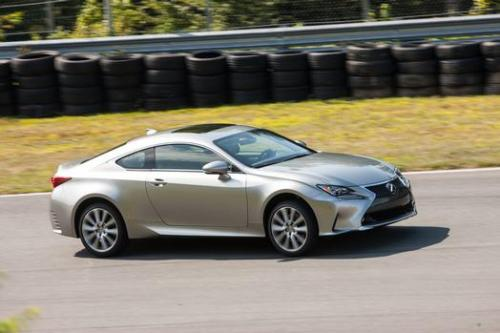 Photo Image Gallery & Touchup Paint: Lexus RC in Atomic Silver   (1J7)  YEARS: 2015-2017