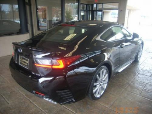 Photo Image Gallery & Touchup Paint: Lexus RC in Obsidian    (212)  YEARS: 2015-2017