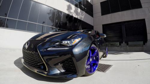 Photo Image Gallery & Touchup Paint: Lexus RC in Caviar    (223)  YEARS: 2017-2017